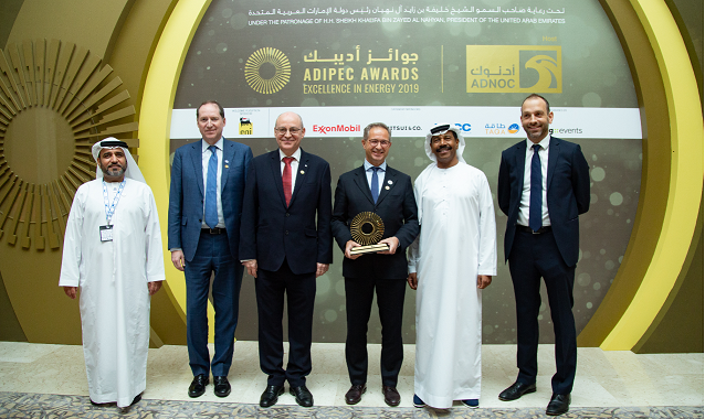 Project STOP wins 2019 ADIPEC award in Abu Dhabi