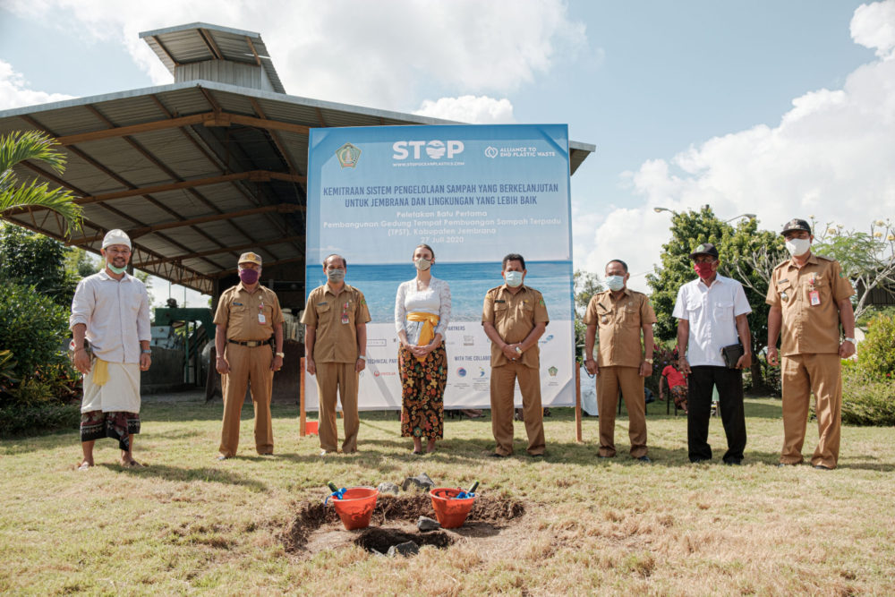 Construction Starts on Waste Processing Facility in Jembrana, Bali